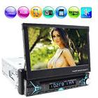 1DIN Car Bluetooth 7'' Touch Screen FM Head Unit DVD Player