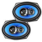 "2) Q Power 6x9"" 700 Watt 3-Way Car Audio Stereo Coaxial"