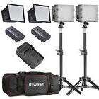 Neewer 2 Packs CN-160 LED Camera Photo Video Studio