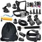 20 Accessories Kit GoPro HERO Session 5 4 3 2 1 Sports