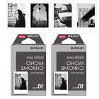 20 Monochrome Fujifilm Instax Mini Film For Fuji Instant 90