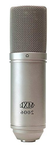 MXL 2006 Large Gold Diaphragm Condenser Microphone with MXL-
