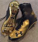 2014 TEAM ISSUED HIGH TOP UNDER ARMOUR NOTRE DAME FOOTBALL