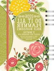 2016 Bold Blossoms Do It All Planner