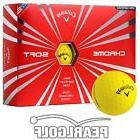 2016 Yellow Callaway Chrome Soft Golf Balls - 6 Dozen -