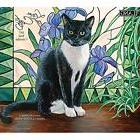 Lang 2017 Love Of Cats Wall Calendar, 13.375 x 24 inches