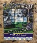 2017 MASTERS GOLF AUGUSTA NATIONAL BADGE TICKET SERGIO