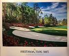 2017 MASTERS Golf Poster Sergio Garcia Wins Augusta National
