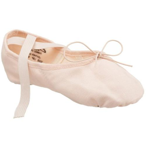Capezio Women's Canvas Juliet Ballet Shoe,Light Ballet Pink,