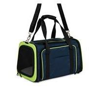 Petmate 21842 See and Extend Pets Carrier, Navy Blue