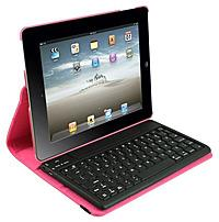 2Cool 2C-RTCK03-PNK Detachable Bluetooth Keyboard Case for