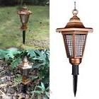 2LED Solar Power Outdoor Insect Zapper Anti Mosquito Light
