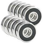 50x 608-2RS Ball Bearing Rubber Sealed Roller Skate