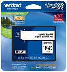 """Brother 3/8""""  Black on White P-touch Tape for PT1750, PT-"""