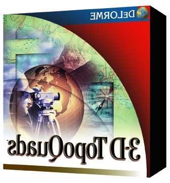 3-D TopoQuads Utah
