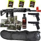 *3 Guns* ALL METAL SVD Airsoft Sniper Rifle 6mm & Pistols &