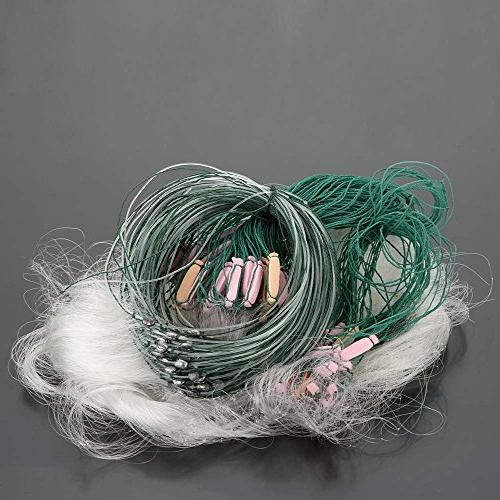 New 25m 3 Layers Monofilament Fishing Fish Gill Net with