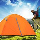 3 Person Double Laye Backpacking Tent Aluminum Poles Outdoor