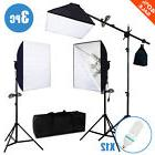 2400W 3 Softbox Light Stand  Photo Studio Photography