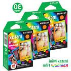 30 Rainbow Fujifilm Instax Mini Instant Films Photos For