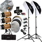 Profession 900W Photo Flash Lighting Trigger Kit Photography