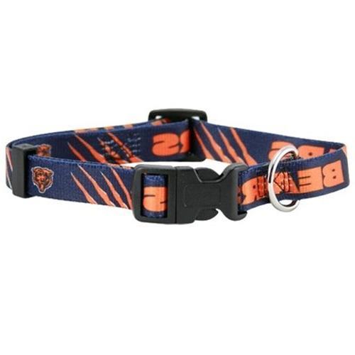 Hunter 305792 Chicago Bears Dog Collar Nylon Medium