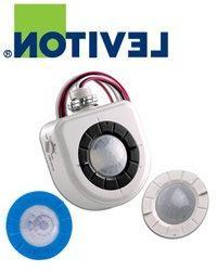 Leviton OSFHU-CTW High-Bay Fixture Mount Occupancy Sensor,