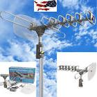 Outdoor 360 Rotation Digital Amplified Antenna TV DTV VHF