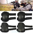 4 Knee Elbow Protective Pad Protector Gear Sports Tactical