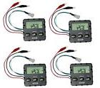 4 MOULTRIE MFH-UDT 6V Universal Digital Replacement Timers