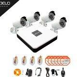 LaView 4 Camera Security System, 8 Channel Compact DVR w/1TB