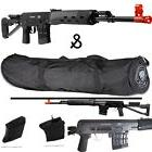 *400 FPS* ALL METAL SVD-S Airsoft Sniper Rifle 6mm & 36'