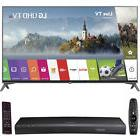 "LG 49UJ7700 49"" 4K HD Smart LED TV  w/ UBD-K8500 HD Blu-Ray"