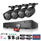 ANNKE 5in1 4CH 1080P Lite DVR 4X720P Outdoor CCTV Home