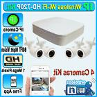 4CH NVR 720P 4 IP Wireless Outdoor IR Night Vision Home