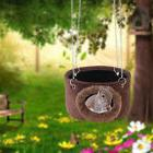 Small Pet Hammock Hanging Bed House Cage Hut for Hamster