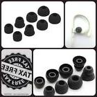 8pcs 4Size Black Replacement Eartips Ear buds Earpads For