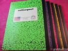 5 - Colored Marble Composition Note Books - 100 Sheets -