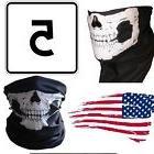5 Ghost Biker Skull Hood Face Mask Motorcycle Ski Balaclava