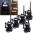 5 sets Retevis RT-5R Dual Band Walkie Talkie VHF/UHF 5W