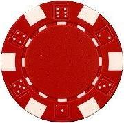 Da Vinci 50 Clay Composite Dice Striped 11.5-Gram Poker