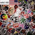 50 Random Skateboard Stickers Vinyl Laptop Luggage Decals