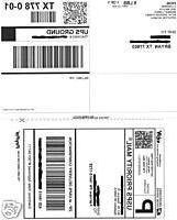 500 Self Adhesive Shipping Labels