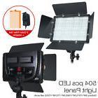 504 LED Light Panel Kit Photography Video Studio Lighting