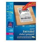 Avery® 5126 White Laser Internet Shipping Labels 5 1/2 x 8