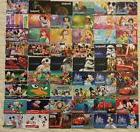 54 Disney Moana gift card lot DISNEYLAND star wars electric
