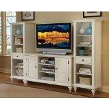Home Style 5543-34 Bermuda 3-Piece Entertainment Center,