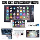 Car Head Unit Stereo MP3 Player Double 2 DIN Bluetooth Touch