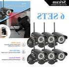 6×HD Home Security IP Camera Wifi Wireless System Internet