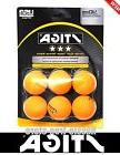 STIGA 6 Orange 3-Star Table Tennis Ping Pong Balls USATT